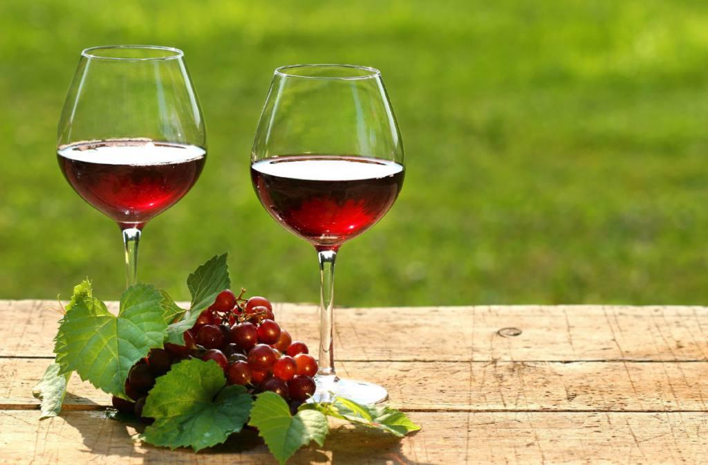 Copas y uvas chianti