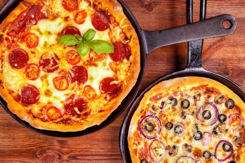 pizzas al sartén